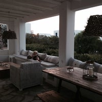 Photo taken at Minois Village Hotel Suites & Spa by Natalya P. on 8/21/2014