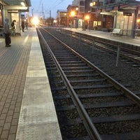 Photo taken at TriMet NW Civic Drive MAX Station by Paul A. on 1/31/2013
