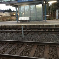 Photo taken at TriMet NW Civic Drive MAX Station by Paul A. on 2/28/2013