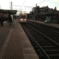 Photo taken at TriMet NW Civic Drive MAX Station by Paul A. on 2/7/2013