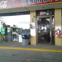 Photo taken at Gasolinera Panamericana by Daniel Francisco P. on 10/4/2012