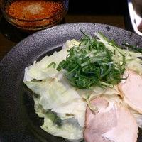 Photo taken at つけ麺本舗 辛部 五日市店 by ayumiru⑥ on 8/17/2014
