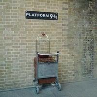 Photo taken at Platform 9¾ by Nadezhda K. on 3/24/2013