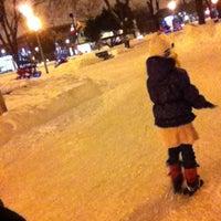 Photo taken at Parc Beaudet by Elizabeth B. on 1/4/2013