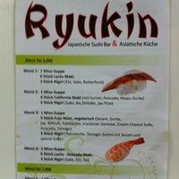 Photo taken at Ryuki by Uwe F. on 8/20/2013