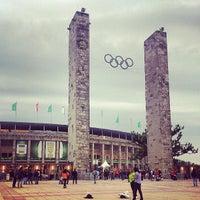 Photo taken at Olympiastadion by Landy on 6/1/2013
