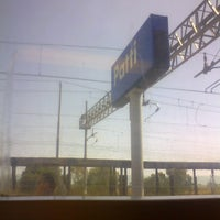Photo taken at Stazione Patti by Giuseppe M. on 6/26/2013