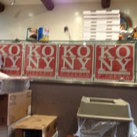 Photo taken at King of New York Pizzeria by Natalie P. on 11/14/2012