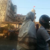 Photo taken at Bhendi Bazaar by Jinsha S. on 12/22/2013