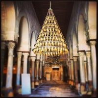 Photo taken at جامع عقبة بن نافع | La Grande Mosquée | Great Mosque of Kairouan by Salym Al Boukhari on 3/26/2013