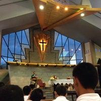 Photo taken at St.Theresa Church by gukoiiz . on 7/26/2014