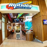 Photo taken at Riptides Sports Grill by Riptides Sports Grill on 10/27/2012