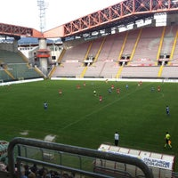 Photo taken at Stadio Nereo Rocco by Marino L. on 4/28/2013