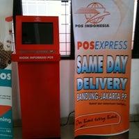 Photo taken at Kantor Pos Ujung Berung by Aditya D. on 11/13/2012