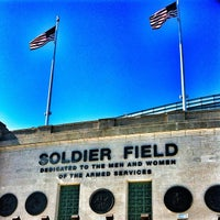 Photo taken at Soldier Field by Will C. on 6/3/2013