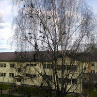 Photo taken at Kopmītnes | Vidzemes Augstskola by Indra K. on 5/4/2015