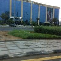 Photo taken at Al Jazira Bank . Head Office | بنك الجزيرة by Ammar on 2/11/2013