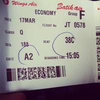 Photo taken at Gate A2 by Tommy Indra Pratama on 3/17/2014