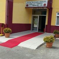 Photo taken at caykur çamlı cay fabrikasi by Selcuk O. on 7/31/2015