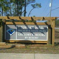 Photo taken at Topsail Hill Preserve State Park by Rick M. on 1/27/2013
