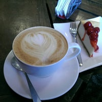 Photo taken at Biscuit Factory Café Bistro by Victor A. on 3/9/2015