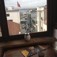 Photo taken at Sığınak Cafe by Gözde H. on 1/24/2013