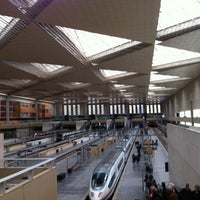 Photo taken at Estación de Zaragoza - Delicias by Fernando T. on 2/2/2013