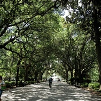 Photo taken at Forsyth Park by Pinky on 7/7/2013