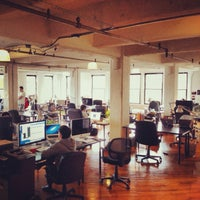 Photo taken at DUMBO Startup Lab by Robert R. on 10/10/2013