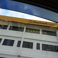 Photo taken at Maybank by Hairin K. on 5/13/2013