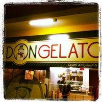 Photo taken at Don Gelato by Bianca Almeida on 10/11/2012