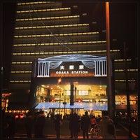 Photo taken at Osaka Station by SORA on 1/19/2013