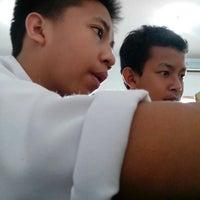 Photo taken at SMP Negeri 1 Bogor by Alif S. on 3/22/2013