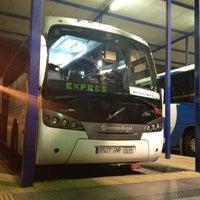Photo taken at Málaga Bus Station by Chris H. on 12/1/2012
