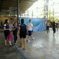 Photo taken at Quadra Poliesportiva do Bartolomea by Franco P. on 11/8/2012