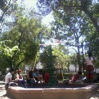 Photo taken at Plaza Blest by Iván N. on 12/5/2012