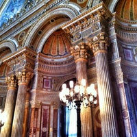 Photo taken at Dolmabahçe Palace by Ped on 4/13/2013