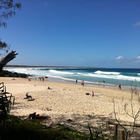 Photo taken at Cabarita Beach by Kirsty G. on 1/4/2013