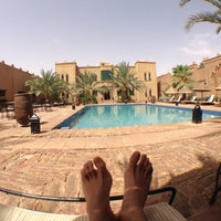 Photo taken at Kasbah Tizimi Hotel Erfoud by Martijn D. on 7/16/2013