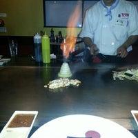 Photo taken at Kobe Japanese Steakhouse & Sushi Bar by Amanda S. on 3/23/2013