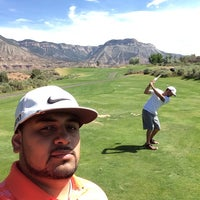 Photo taken at Battlement Mesa Golf by Alfredo A. on 6/22/2014