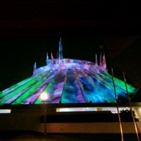 Photo taken at Space Mountain by Brandon L. on 9/15/2012