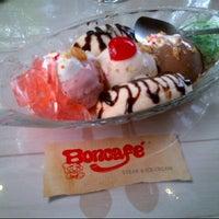 Photo taken at Boncafe Steak & Ice Cream by Hairul A. on 2/21/2015