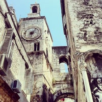 Photo taken at Diocletian's Palace by Mikel O. on 7/20/2013