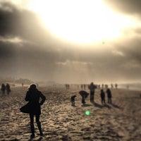 Photo taken at Strand Noordwijk aan Zee by Christian G. on 12/30/2012