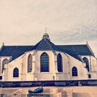 Photo taken at Oude Kerk by Christian G. on 1/18/2014