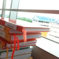 Photo taken at Perpustakaan by eka a.y p. on 12/4/2013