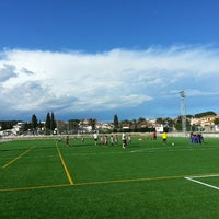 Photo taken at Camp Futbol de L'Escala by DavidFalgàs on 3/9/2013