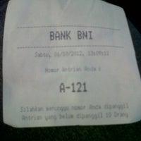Photo taken at BNI KLN USU by Addina S. on 10/6/2012