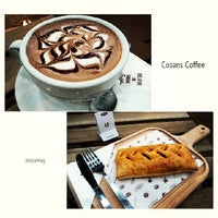 Photo taken at Cosans Coffee by Chow S. on 3/23/2014
